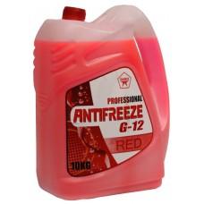 Антифриз PROFESSIONAL G12 (готовый, красный) 10л