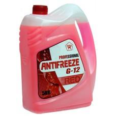 Антифриз PROFESSIONAL G12 (готовый, красный) 5л