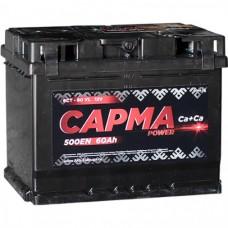Аккумулятор автомобильный 6СТ-60 САРМА 480А пп