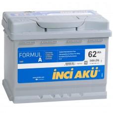 Аккумулятор автомобильный 6СТ-62 INCI AKU Formula 540А пп
