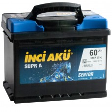 Аккумулятор автомобильный 6СТ-60 INCI AKU Supra 540А пп