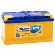 Аккумулятор автомобильный 6СТ-100 АКОМ 850А оп