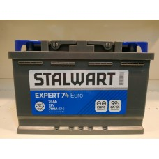 Аккумулятор автомобильный 6СТ-74  STALWART Expert  (Аком) 700А оп