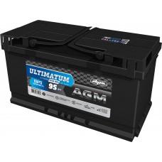 Аккумулятор автомобильный 6СТ-95 АКОМ ULTIMATUM AGM 850А оп