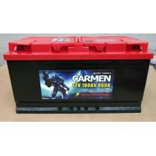 Аккумулятор автомобильный 6СТ-100 CARMEN 860А oп