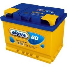 Аккумулятор автомобильный 6СТ-60 АКОМ 520А пп