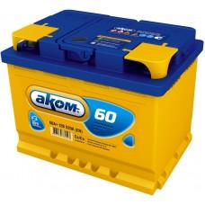 Аккумулятор автомобильный 6СТ-60 АКОМ 520А оп