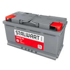Аккумулятор автомобильный 6СТ-90  STALWART Drive (Аком) 770А оп