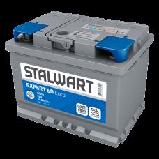 Аккумулятор автомобильный 6СТ-60  STALWART Expert (Аком) 540А оп