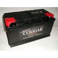 Аккумулятор автомобильный 6СТ-90 COUGAR 750А оп