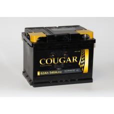 Аккумулятор автомобильный 6СТ-62 COUGAR 540А пп