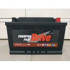 Аккумулятор автомобильный 6СТ-75 Champion Pilot Drive 730А оп