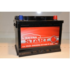 Аккумулятор автомобильный 6СТ-60 EXTRA START 540А оп