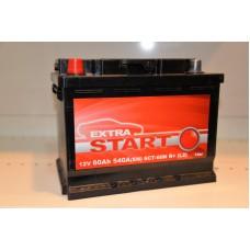 Аккумулятор автомобильный 6СТ-60 EXTRA START 540А пп