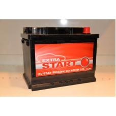 Аккумулятор автомобильный 6СТ-62 EXTRA START 580А оп