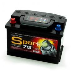 Аккумулятор автомобильный 6СТ-75 SPARK 620А пп