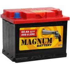 Аккумулятор автомобильный 6СТ-55 MAGNUM 450А оп