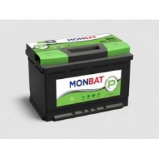 Аккумулятор автомобильный 6СТ-60 MONBAT PREMIUM 600А оп (низкий)