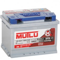 Аккумулятор автомобильный 6СТ-60 MUTLU SFB 3  540А пп