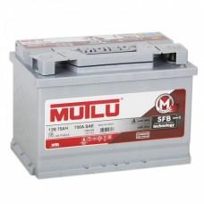 Аккумулятор автомобильный 6СТ-75 MUTLU SFB 3  720А оп