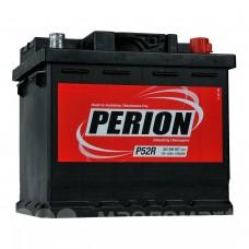Аккумулятор автомобильный 6СТ-52 PERION  470А оп (кубик)