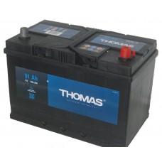 Аккумулятор автомобильный 6СТ-91 THOMAS Asia 740А оп