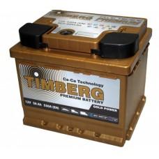 Аккумулятор автомобильный 6СТ-56 Timberg Gold 530А оп (низкий, кубик)