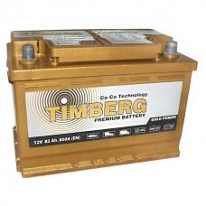 Аккумулятор автомобильный 6СТ-82 Timberg Gold 850А оп