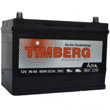 Аккумулятор автомобильный 6СТ-90 Timberg Azia 850А оп