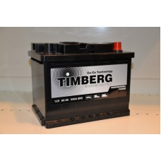 Аккумулятор автомобильный 6СТ-60 Timberg Professional Power 530А оп