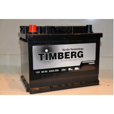 Аккумулятор автомобильный 6СТ-60 Timberg Professional Power 530А пп