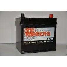 Аккумулятор автомобильный 6СТ-65 Timberg Azia 600А оп
