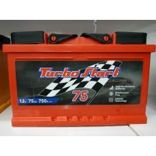 Аккумулятор автомобильный 6СТ-75 Turbo Start 750А оп