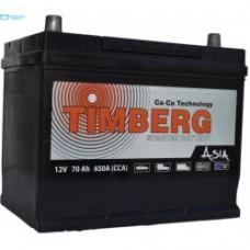 Аккумулятор автомобильный 6СТ-70 Timberg Azia 650А оп