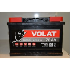 Аккумулятор автомобильный 6СТ-78 VOLAT 800А оп