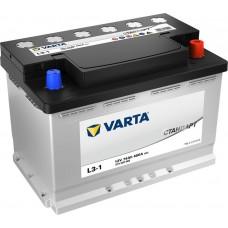 Аккумулятор автомобильный 6СТ-74 VARTA Стандарт  680А оп