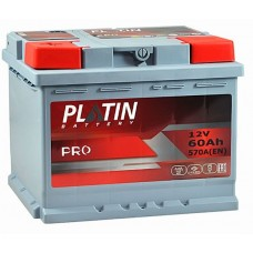 Аккумулятор автомобильный 6СТ-60 Platin Pro 550А оп