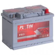 Аккумулятор автомобильный 6СТ-75 Platin Pro 740А оп