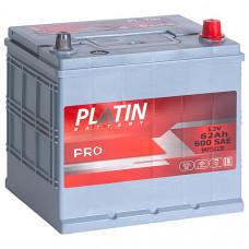 Аккумулятор автомобильный 6СТ-62 Platin Pro Asia 600А оп