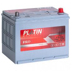 Аккумулятор автомобильный 6СТ-75 Platin Pro Asia 740А оп