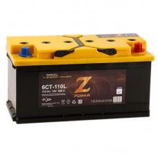Аккумулятор автомобильный 6СТ-110 Z-POWER 890А оп