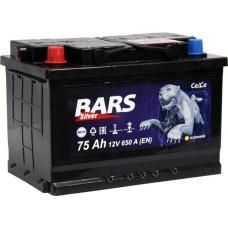 Аккумулятор автомобильный 6СТ-75 Bars Silver 650 А пп