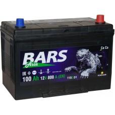 Аккумулятор автомобильный 6СТ-100 Bars ASIA оп