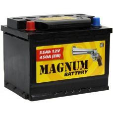 Аккумулятор автомобильный 6СТ-55 MAGNUM 450А пп