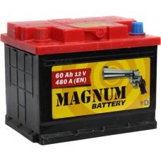 Аккумулятор автомобильный 6СТ-60 MAGNUM 480А пп