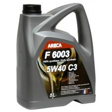 Масло моторное ARECA F6003 5w-40 SN 5л