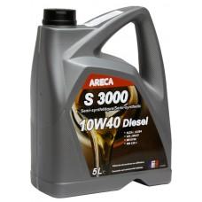 Масло моторное ARECA S3000 DIESEL 10w-40 SN 5л