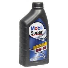 Масло моторное Mobil SUPER 2000 X1 10w-40 SL 1л