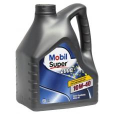 Масло моторное Mobil SUPER 2000 X1 10w-40 SL 4л
