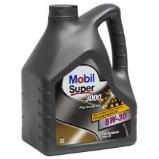 Масло моторное Mobil SUPER 3000 X1 Formula FE 5W-30 SL 4л